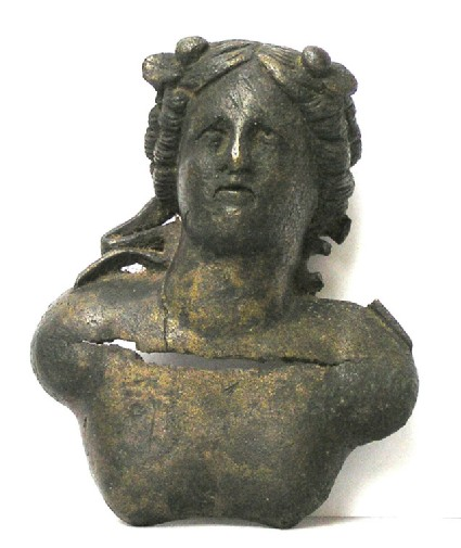 Bronze bust of Apollo