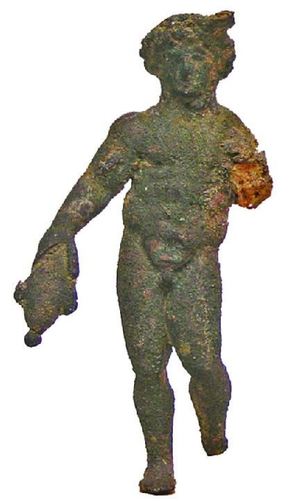 Figurine of nude male, Mercury