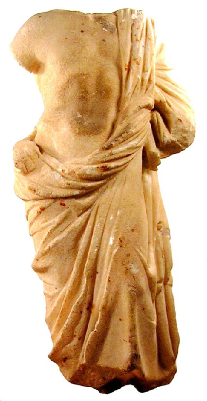 Marble statuette of Aesculapius
