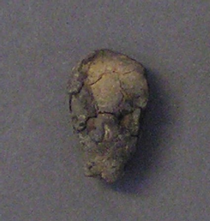 Figurine of human head