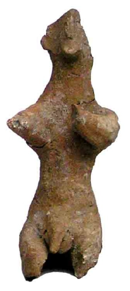 Figurine of a seated man
