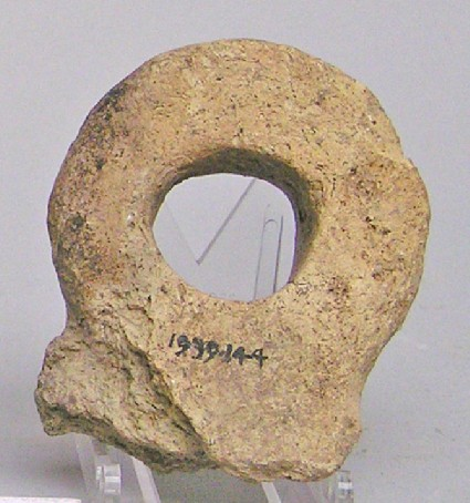 Fragment of an eye-idol