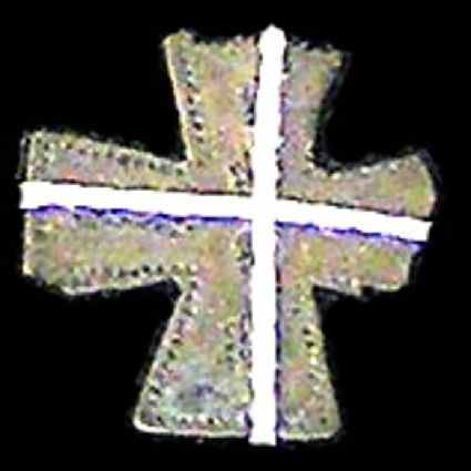 Cruciform applique