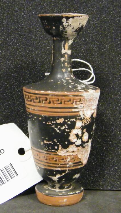 Attic red-figure pottery lekythos