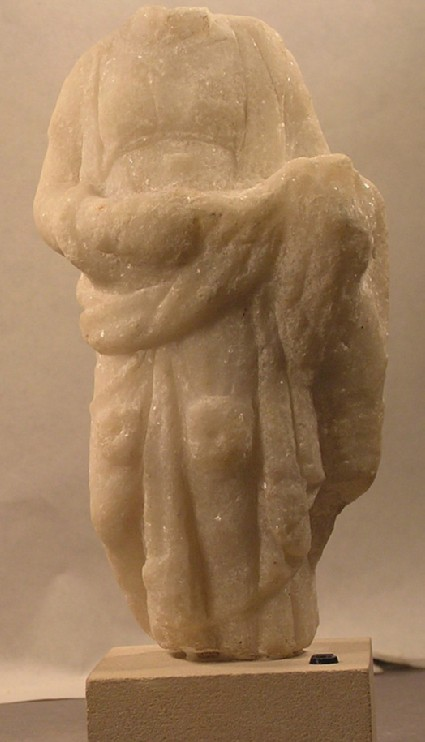 Figurine of Hygaea wearing a chiton and himation