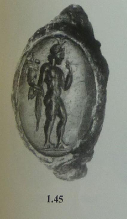 Intaglio gem, Harpokrates
