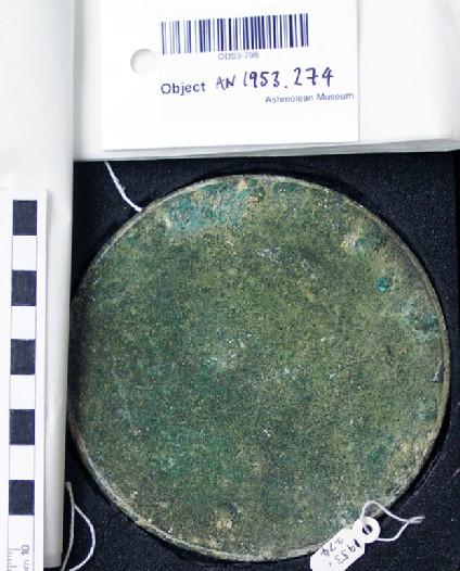 Bronze mirror disk