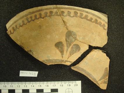 Amphora upper shoulder fragment, local or East Greek