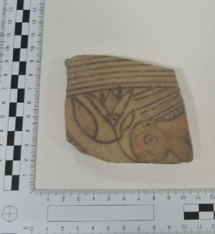 Wall fragment of Bichrome IV closed vessel