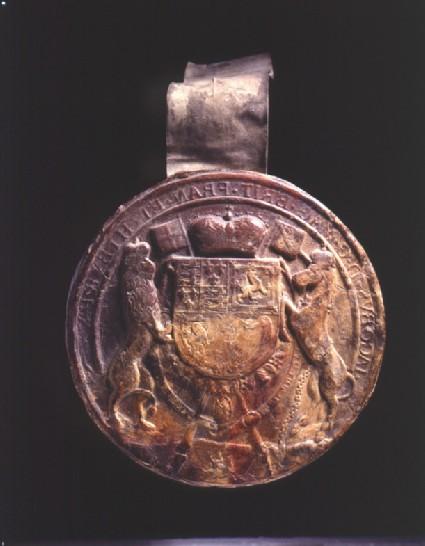 Seal of King James I