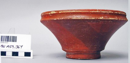 Pergamene bowl, carinated