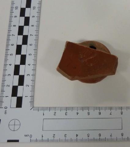 Samian bowl fragment marked FRON(TINI)