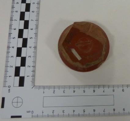 Samian bowl stamped OFMVRRAN