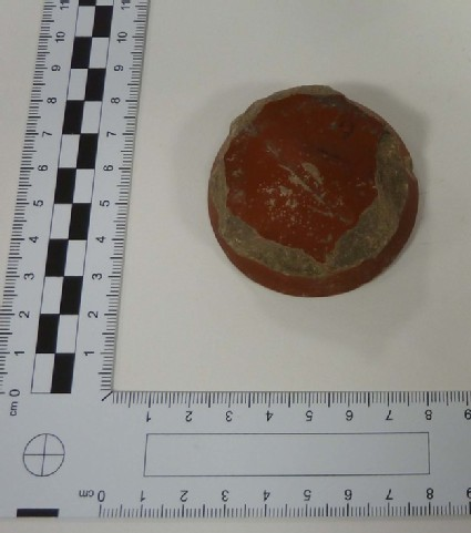 Samian bowl stamped SATVRNINI OF