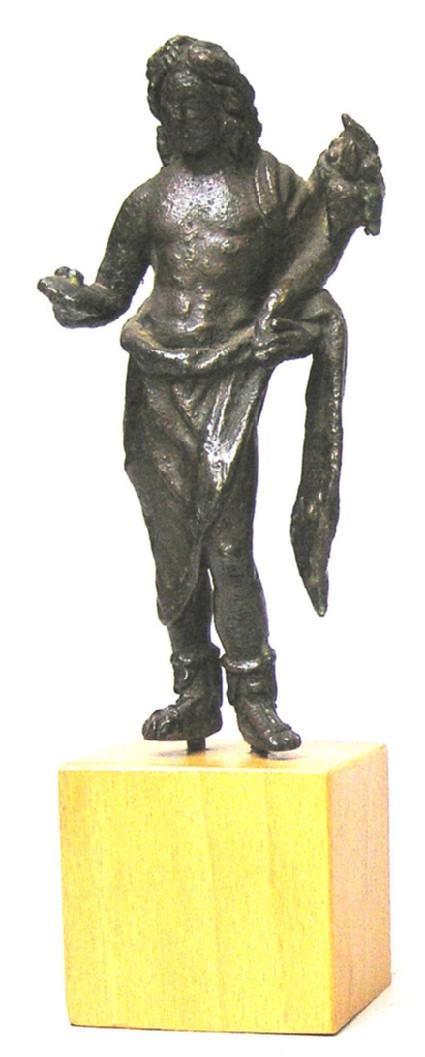 Bronze statuette of Dionysus