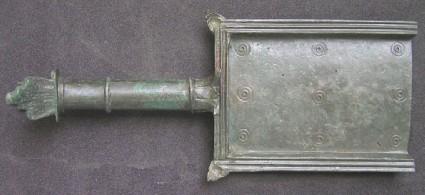 Bronze vatillum or incense shovel