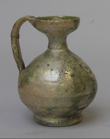 Small ceramic flagon