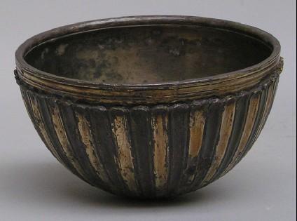 Silver-gilt bowl