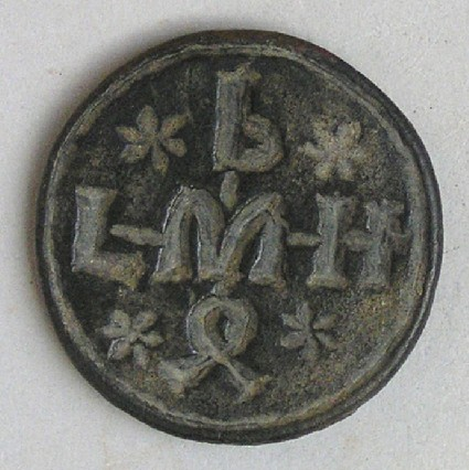 Bread-stamp with Greek inscription