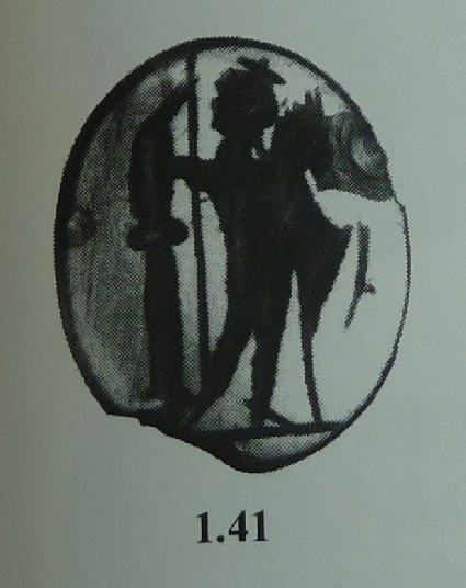 Intaglio gem, Dioscurus