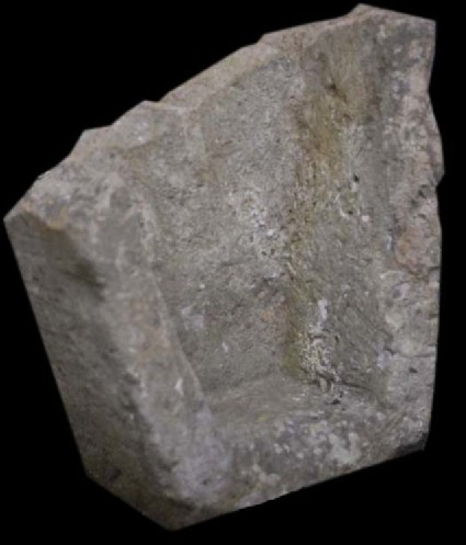 Fragment of stone coffin