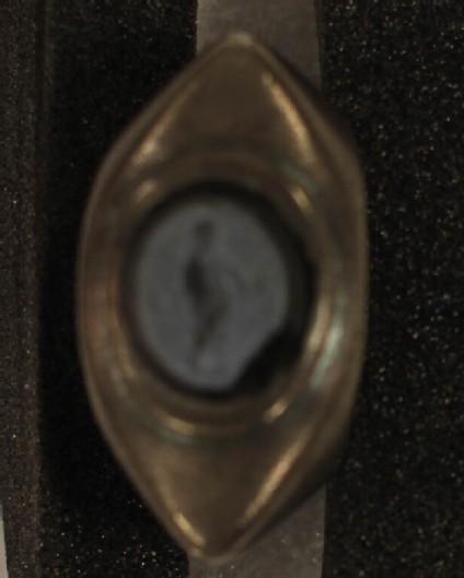 Kronos intaglio gem finger-ring