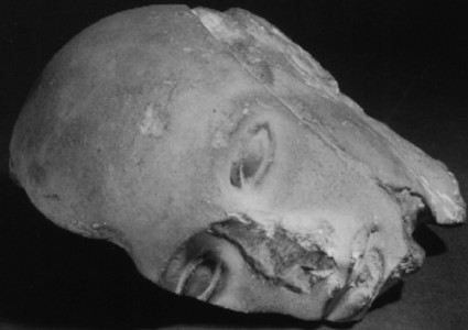 Cast of head of groom from the east pediment of the Temple of Zeus, Olympia