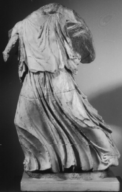 Cast of running goddess from the east pediment of the Parthenon, Athens