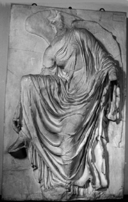 Cast of parapet from the Temple of Athena Nike, Athenian acropolis
