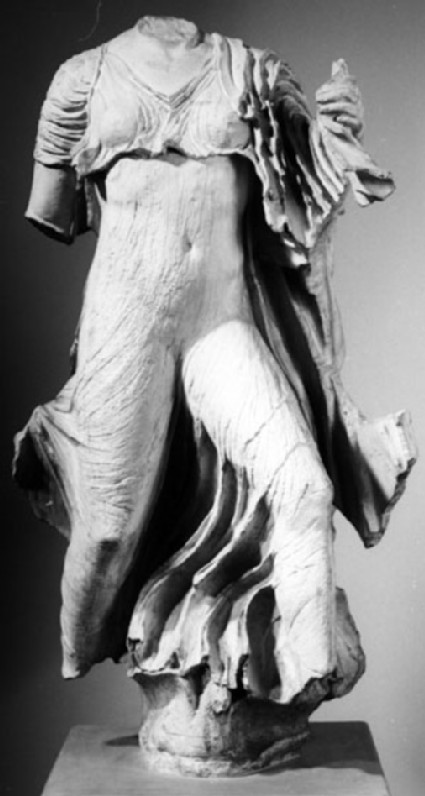 Cast of a statue of Nereid from the Nereid Monument, Xanthos