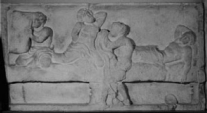 Cast of the south frieze of the Heroon, Trysa