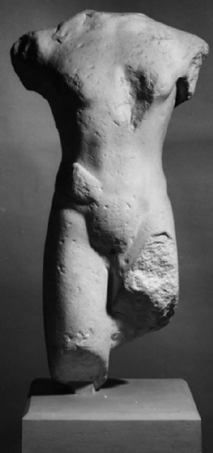 Cast of the torso of a kouros, from Paros