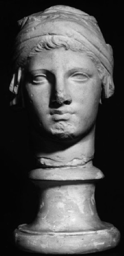 Cast of head of young man, from Athens