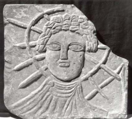 Cast of a relief of Sol Invictus from Corbridge