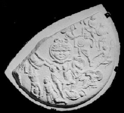 Cast of the Strangford Shield from Athens