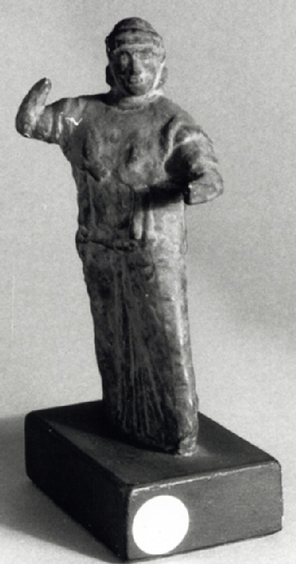 Cast of a statuette of Athena, from Athens