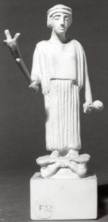 Cast of a statuette of Artemis Hemera, from Arcadia