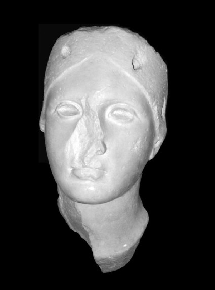 Cast of the head of Juno Sospita, from Lanuvium