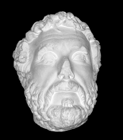 Cast of a portrait head of Antoninus Pius