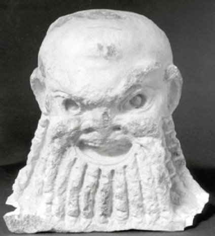 Cast of a theatre mask from Aphrodisias
