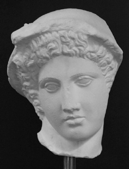 Cast of a head of Hermes, from Narona