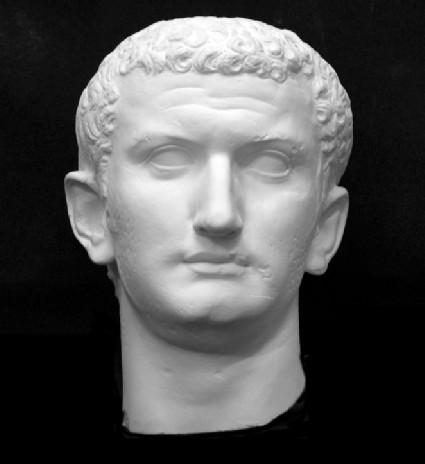 Cast of the head of Titus