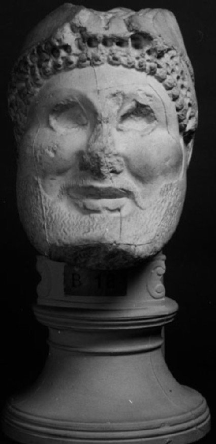 Cast of the head of hoplite from the sanctuary of Zeus, Olympia