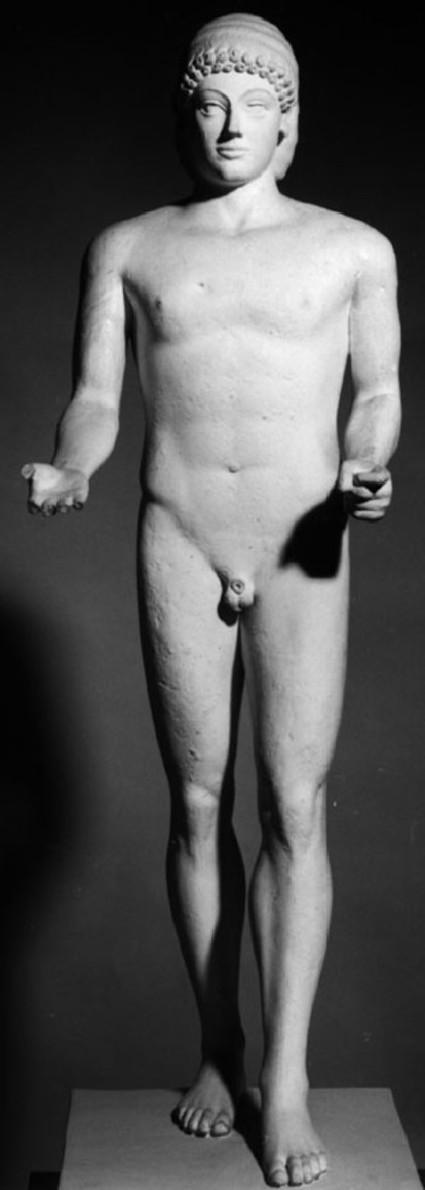 Cast of the bronze Apollo from Piombino