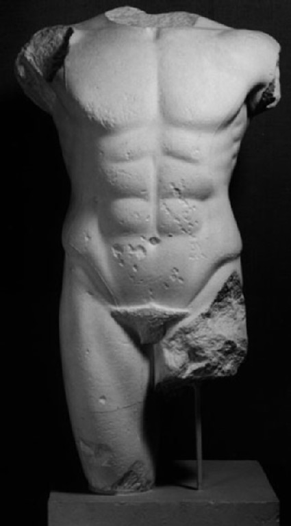 Cast of a naked youth, from Miletus