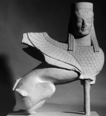 Cast of the Spata sphinx