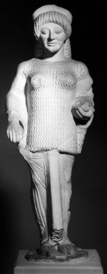 Cast of Kore 683 from the Acropolis, Athens
