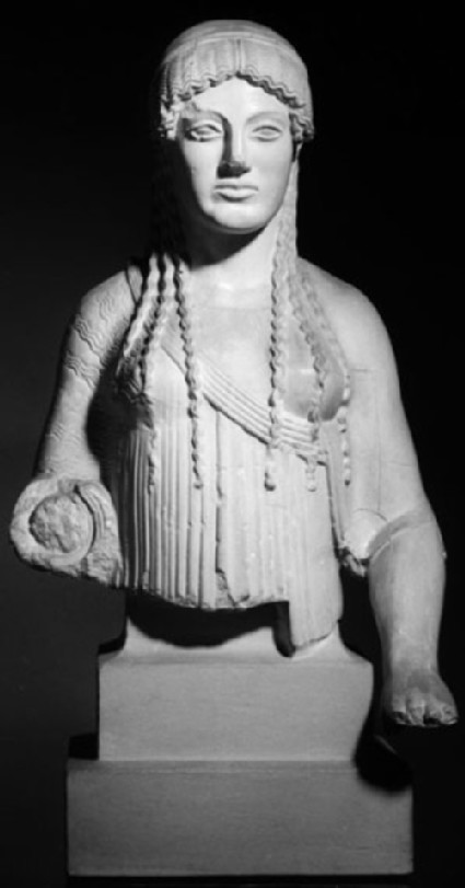 Cast of Euthydikos' Kore from the Acropolis, Athens