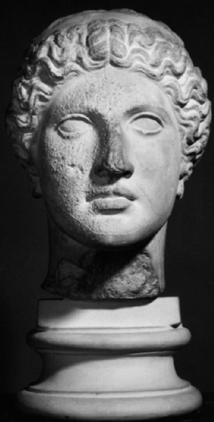 Cast of the head of Hera from the Argive Heraion