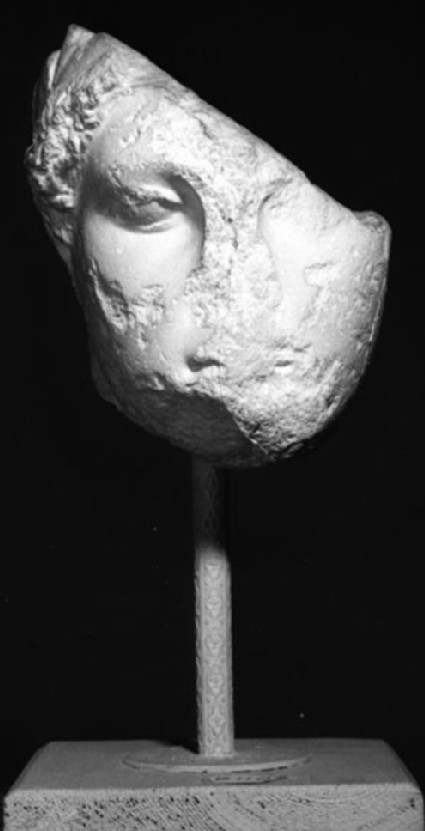 Cast of a female head from the Acropolis, Athens
